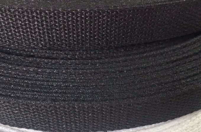 hemp-webbing-25mm-black