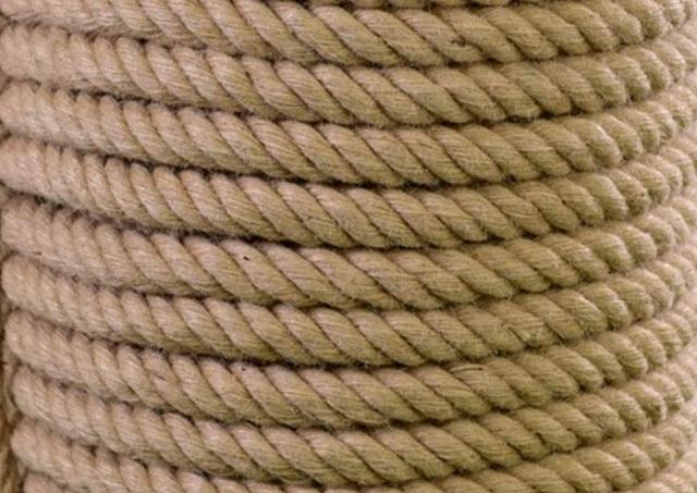 100% hemp rope